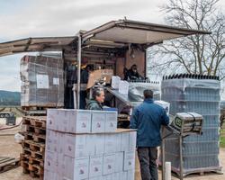Domaine de l'Aqueduc - Saint-Maximin - Mise en bouteille des vins blancs et rosés